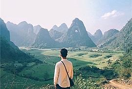 Lên non nước Cao Bằng ngắm vẻ đẹp độc nhất vô nhị của núi Mắt Thần