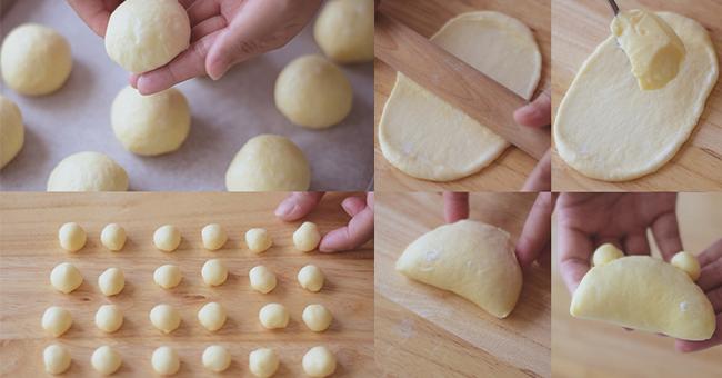cách làm bánh sữa chua gấu