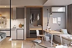 4 nguyên tắc khi bố trí nội thất căn hộ studio được người trẻ ưa chuộng