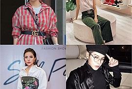 """Cùng đeo thắt lưng Gucci nhưng """"Phương Nam"""" bị chê hết chỗ, loạt sao Việt lại phối đồ sành điệu thế này"""
