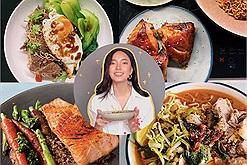 """Nhìn mâm cơm ngon mỗi ngày của Châu Bùi trong mùa giãn cách mà mê mẩn, bất ngờ là cô nàng đã """"tàu ngầm"""" group nấu ăn từ lâu"""