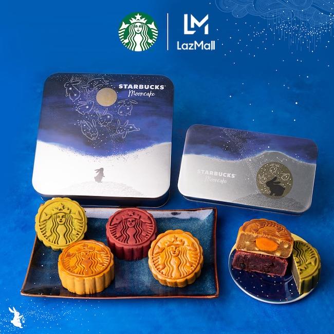 Bộ sưu tập bánh trung thu Starbucks 2021 mới nhất