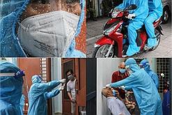 Tổ y tế lưu động chưa tới 10 người nhưng nhanh chóng phát gần 1.500 kit test nhanh đến tận tay người dân