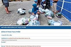 Thành phố phong tỏa, người dân Đà Nẵng vẫn đủ ăn nhờ đăng ký thực phẩm qua phần mềm