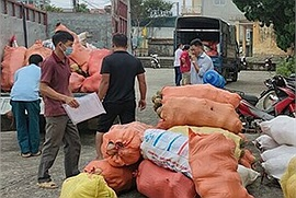 Mùa dịch Covid-19, Hà Giang gửi tặng người dân Hà Nội 60 tấn rau củ quả