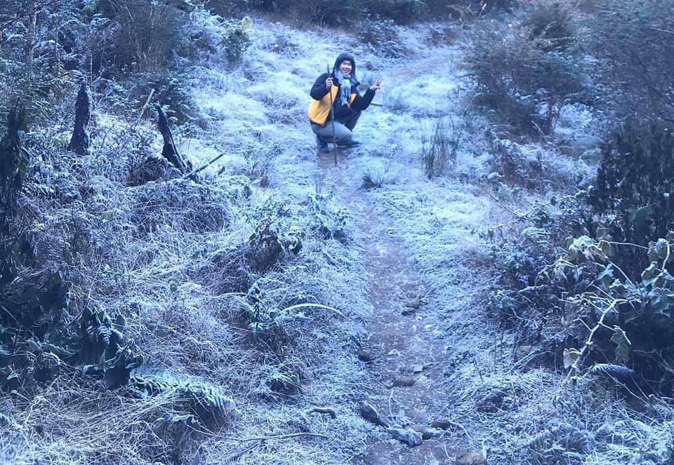 Đón tuyết trên dãy Bạch Mộc Lương Tử- Ky Quan san.