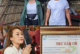 Không rùm beng trên MXH, đây là 3 nghệ sĩ Việt chăm chỉ, lặng lẽ làm từ thiện nhất