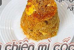 Ấm bụng với Cơm chiên mì ăn liền Shin Ramyun phô mai sữa – món ăn được nhiều Youtuber lăng xê