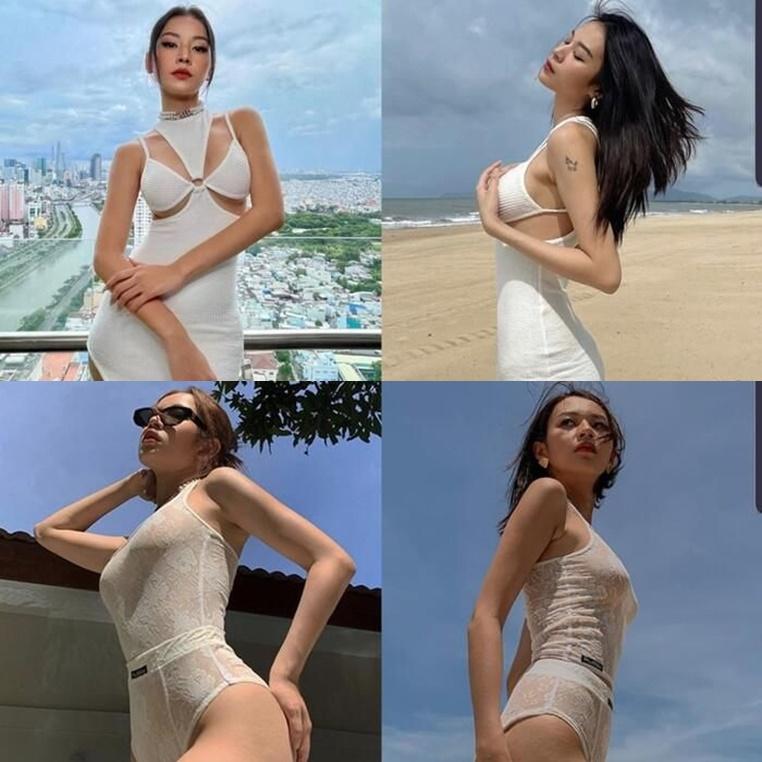 Chi Pu, Phí Phương Anh: tình cờ mà giống nhau đến cả bikini thế này, mỗi người một vẻ mười phân vẹn mười