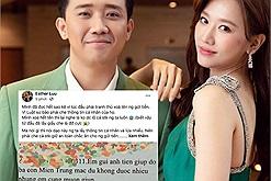 Hari Won: nói rõ lý do chồng phải lấy giấy che một phần sao kê, khẳng định mấy chục ngàn cũng quý, không dám ăn chặn