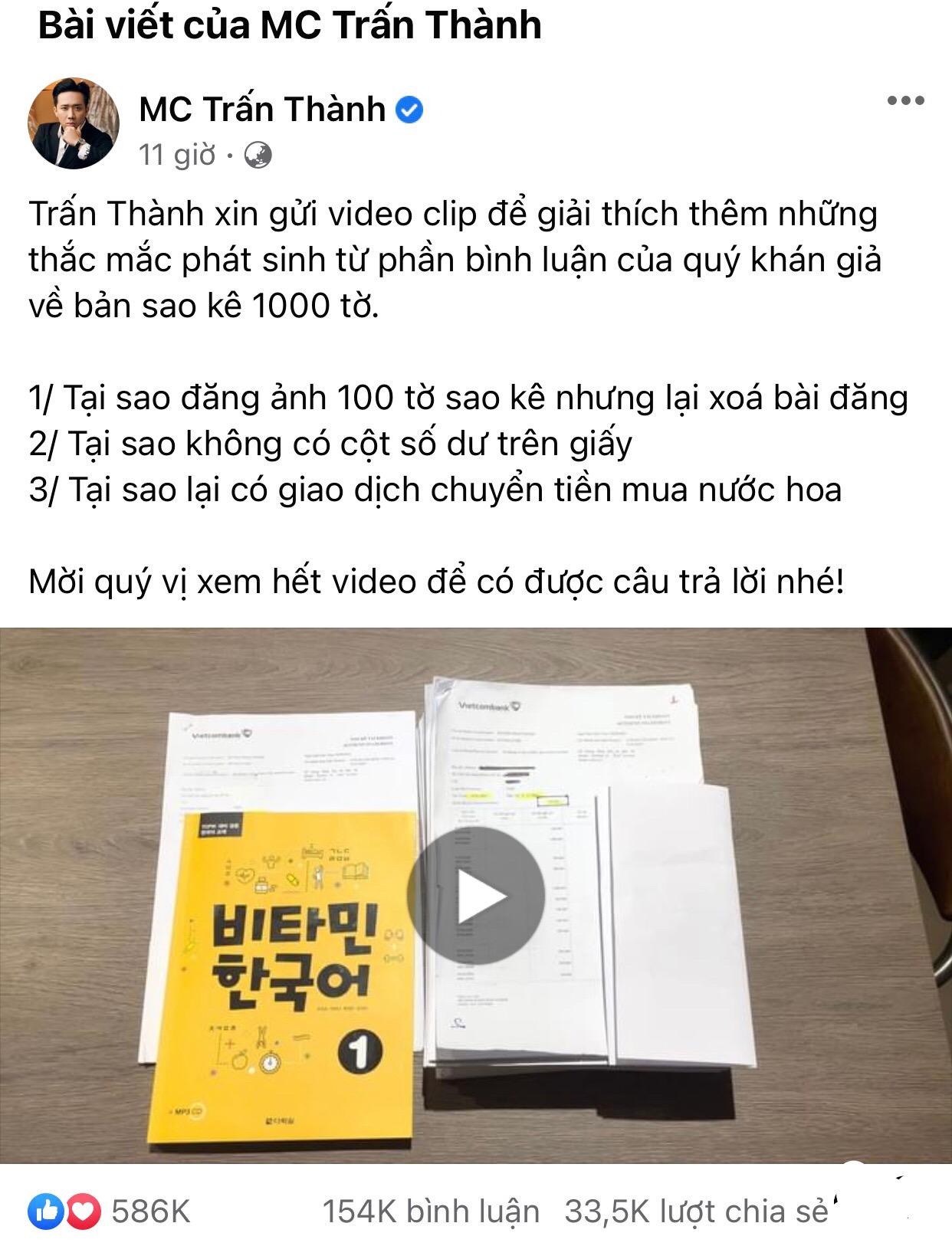 Clip giải đáp mọi thắc mắc cho cộng đồng mạng của Trấn Thành