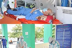 """Ông cụ 82 tuổi bị tai biến liệt nửa thân đã được các bác sĩ giúp vượt qua """"trận chiến"""" với Covid-19"""