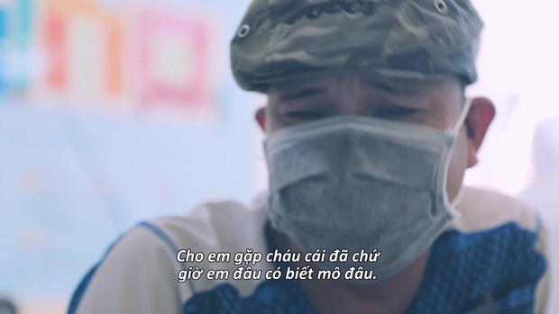 """Phân đoạn """"lấy nước mắt"""" nhất trong phóng sự """"Ranh giới"""" VTV: Đau đớn nhất là không kịp nhìn người thân lần cuối"""