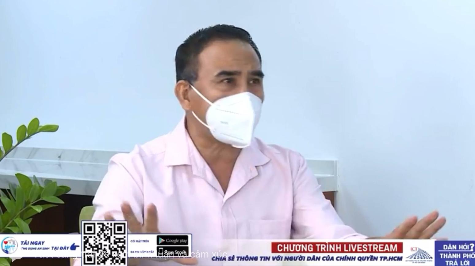 Quyền Linh nói hộ lòng người trên livestream