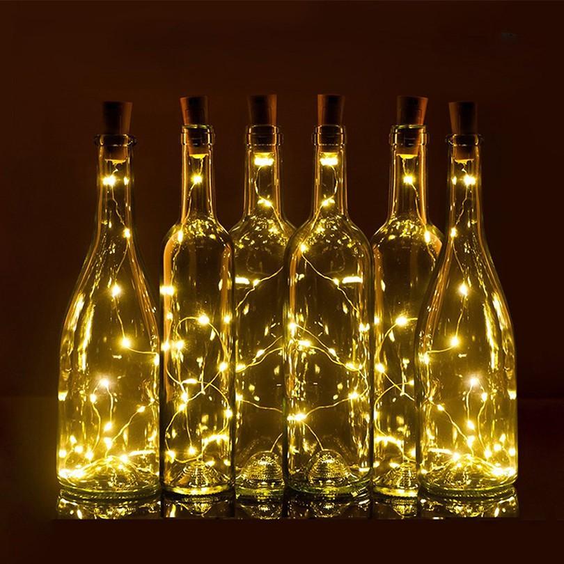 Biến chai thủy tinh thành các mẫu đèn vừa tinh tế lại sang chảnh