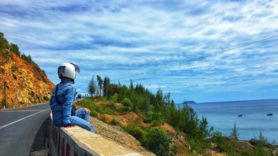 Hành trình đi phượt bằng xe máy 20 ngày, qua 10 tỉnh thành của bố và con gái