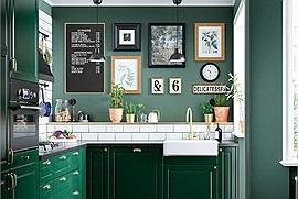 3 lưu ý trong cách décor phòng bếp giúp căn bếp nhà bạn trở nên rộng rãi, tiết kiệm tối đa diện tích sử dụng