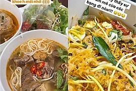 Ngày hội ăn uống của giới trẻ Sài Gòn: vui biết bao với những bát hủ tiếu, bún bò, bún riêu,... sau bao ngày mới gặp!