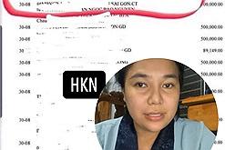 Lại chuyện sao kê: Nhóm từ thiện của Giang Kim Cúc vô tình để lộ số dư khủng dù mấy lần thông báo quỹ đã cạn?