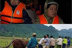 Muôn kiểu sự cố của sao Việt khi làm từ thiện: quá nể Việt Hương sắp ngừng hoạt động vẫn gắng gượng đến ngày cuối cùng