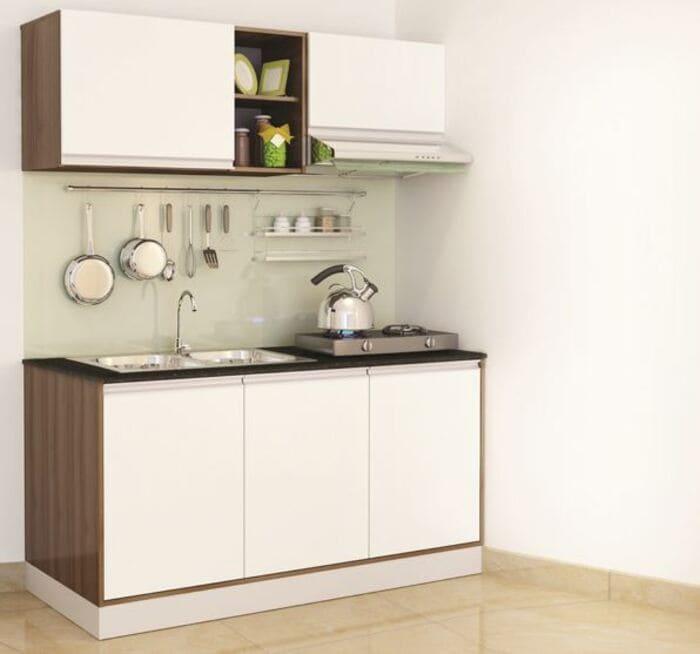 tham khảo cách bày trí tủ bếp