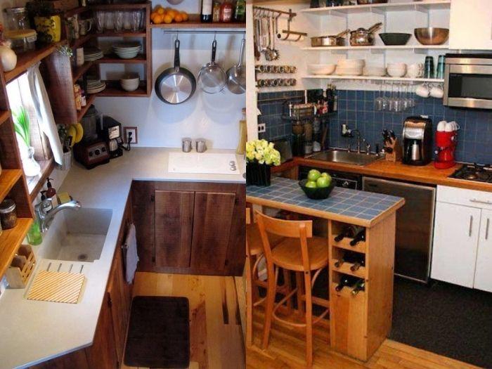 hướng dẫn chọn mẫu tủ bếp phù hợp với không gian nhỏ hẹp