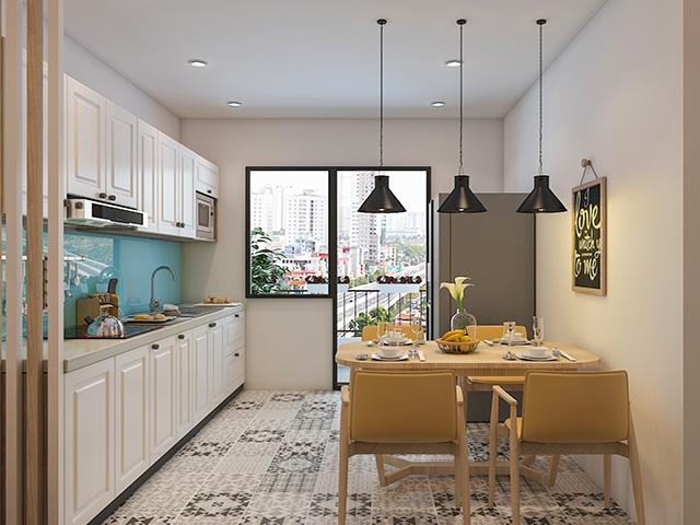 decor phòng bếp nhỏ