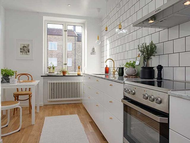 cách trang trí nhà bếp nhỏ đẹp