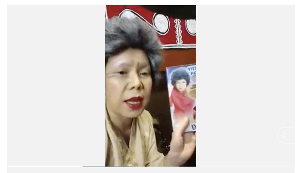 Việt Hương từng kêu gọi quyên góp từ thiện