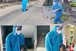 Áo xanh mùa dịch: nữ bác sĩ ôm cháu bé chạy bộ để cấp cứu kịp thời, nam TNV trở thành chỗ dựa động viên bà cụ tiêm vaccine