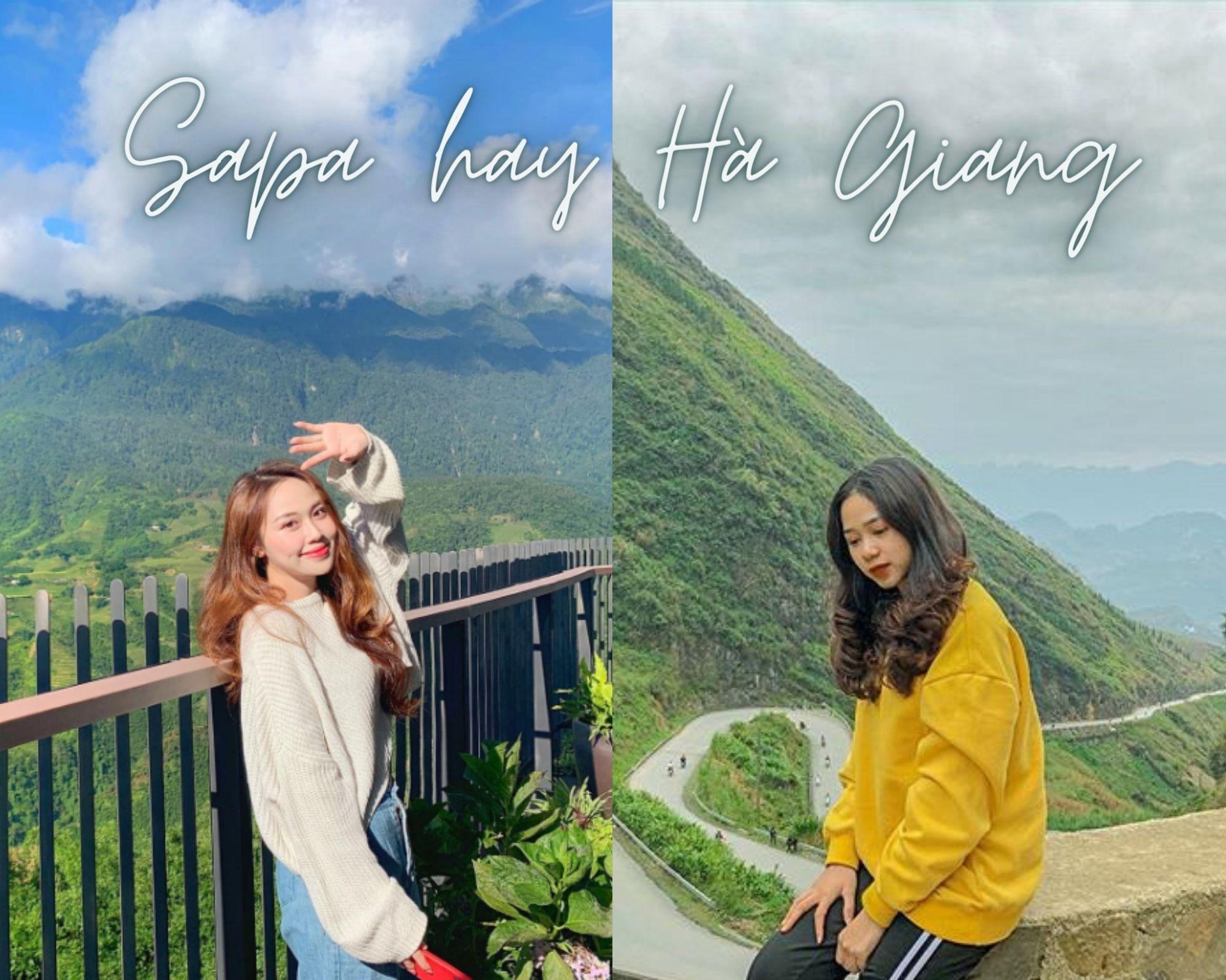 Sapa hay Hà Giang nơi nào cũng đẹp, nơi nào cũng hấp dẫn