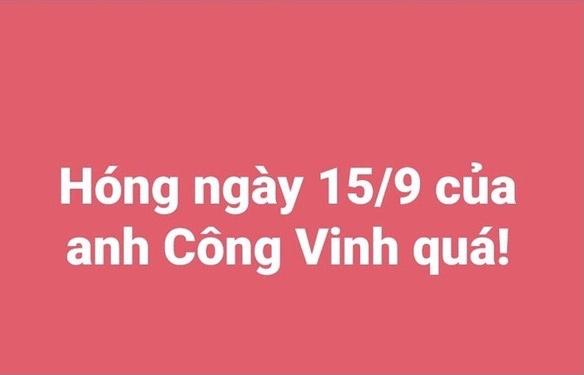"""Ngày 15/9 netizens khắp cõi mạng réo gọi tên Công Vinh Thủy Tiên vì hôm nay đã đến hạn """"trả bài"""" sao kê"""