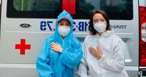 chồng Việt Hương bị mưng mủ ở chân vì làm từ thiện liên tục nhiều ngày