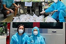 Vợ bị đặt điều đủ thứ thị phi khi làm từ thiện, chồng Việt Hương chỉ nói: 'Kệ! Việc mình làm mình cứ làm'