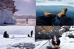 Chàng trai Việt và kỷ niệm câu cá, nấu súp ở hồ băng sâu nhất thế giới, âm đến 35 độ C