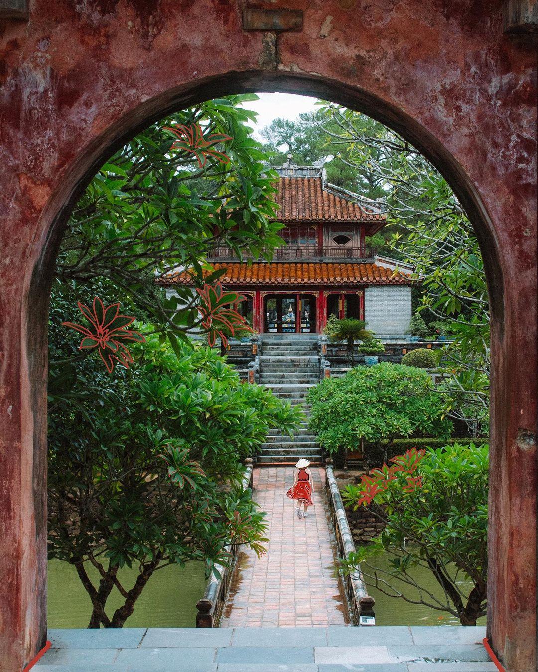lăng Minh Mạng địa điểm phải thử khi đến Huế