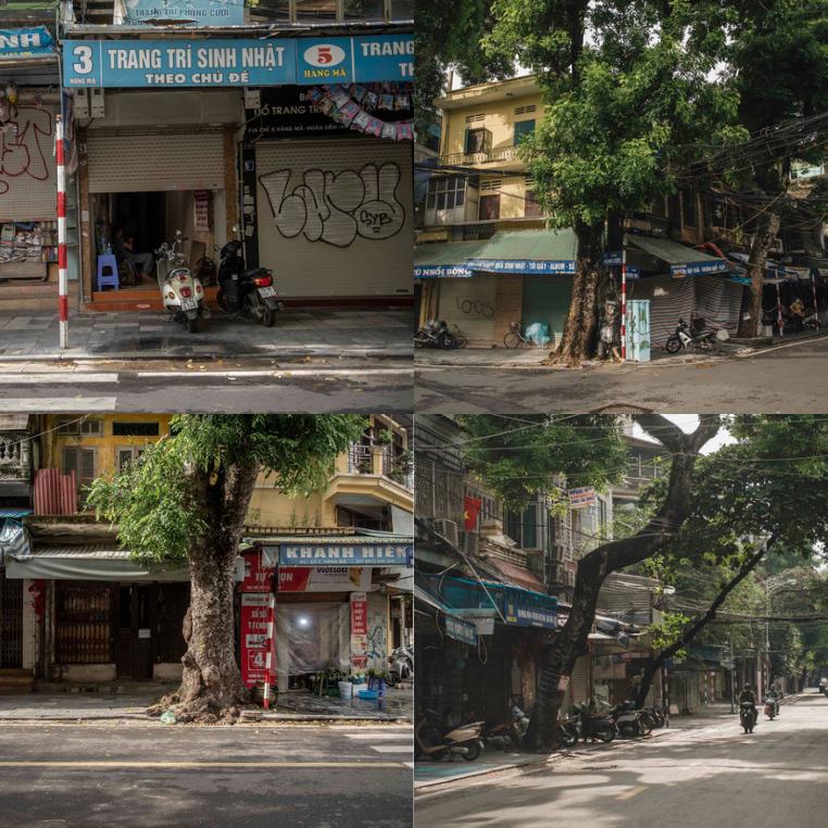 trung thu vắng người ở Hà Nội cuối mùa giãn cách