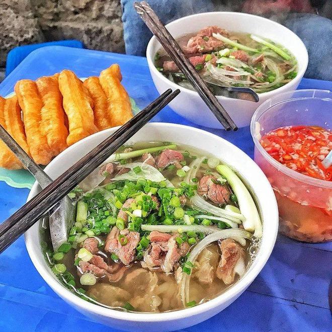 phở là món ăn truyền thống được người Việt yêu thích