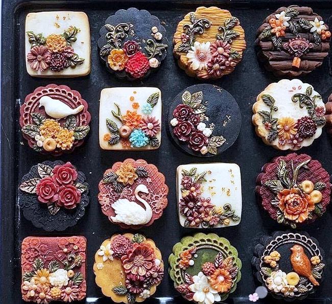 Bánh trung thu 3D tạo hình độc đáo