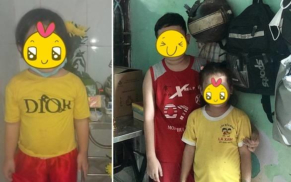 Hai em nhỏ phải chịu cảnh mồ côi cha mẹ vì dịch bệnh