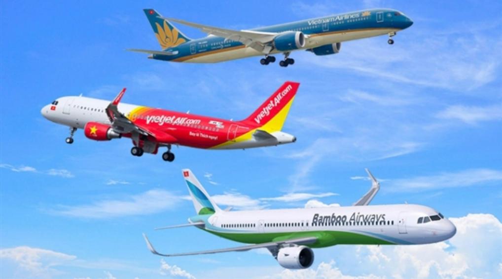 giá vé máy bay tháng 10/2021 nhiều hãng khuyến mãi sâu