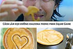 """Squid Game đổ bộ Việt Nam với trend """"sinh tồn"""" từ món kẹo đường Hàn Quốc, dễ làm khó chơi nhưng ai cũng muốn thử"""