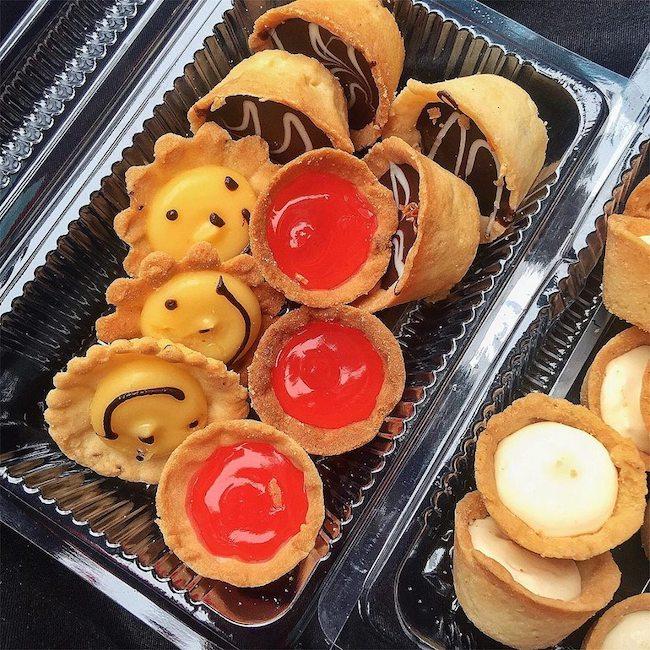 bánh ngọt hongkong hàng lược