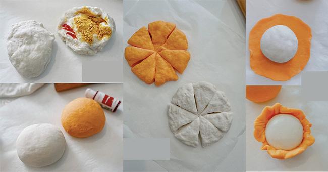 làm bánh bao quả quýt tại nhà