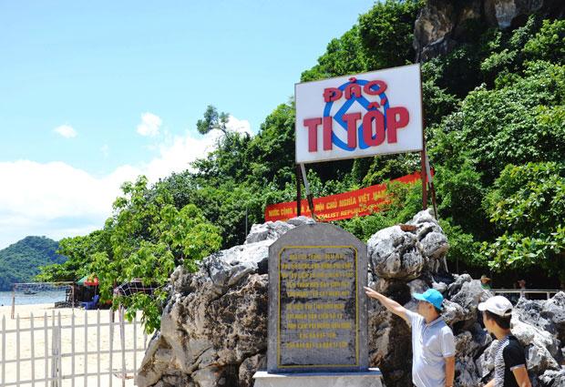 đảo ti tốp vịnh Hạ Long