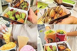 Bánh rán Hy Lạp siêu độc lạ đang nổi rần rần khu Hoàn Kiếm ship mọi mặt trận còn tặng free kem gelato