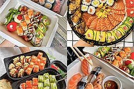 3 hàng sushi được ưu ái nhất cho bữa ăn đầy dủ dinh dưỡng ship tận nhà mùa dịch