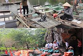 Gần 3000 người lái đò ở Tràng An được tiêm vắc xin, Ninh Bình sẵn sàng cho hoạt động du lịch quay trở lại sau dịch