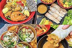 Cùng Độ Mixi ăn mì quảng chuẩn gốc Đà Nẵng tại quán ăn vặt Hà Nội có không gian quán nhậu siêu chill như Đà Lạt