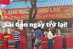 """Ngày đầu nới lỏng giãn cách, người Sài Gòn đổ ra """"ủng hộ"""" hàng quán đông nghẹt, món cháy hàng lại là… bánh trung thu"""